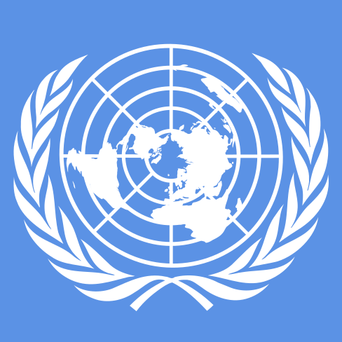 Flagge der Vereinten Nationen Flagge der Vereinten Nationen | Bild: © Open Clip Art Library [CC0 1.0]  - Wikimedia Commons
