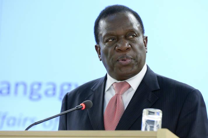 Mnangagwa Seit Freitag ist Emmerson Mnangagwa neuer Präsident in Simbabwe |  Bild: © UN Geneva [CC BY-NC-ND 2.0]  - Flickr