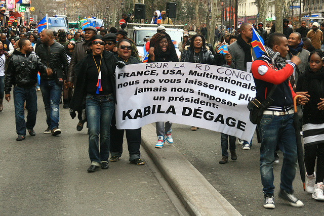 DR Kongo Protest