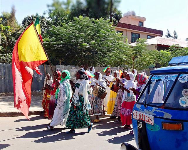 Tigray Ist die tigrinyanische Partei TPLF mitschuldig an dem ethnischen Konflikt? |  Bild: © SarahTz [CC BY 2.0]  - Flickr