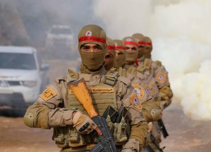 YPG-Kämpfer Kämpfer der kurdischen Volksverteidigungseinheiten (YPG) in Afrin.    Bild: ©  Kurdishstruggle [CC BY 2.0]  - Flickr