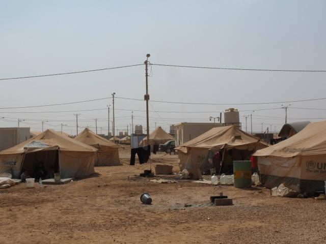 Ein Flüchtlingslager im Norden Jordaniens |  Bild: © Heinrich-Böll-Stiftung [CC BY-SA 2.0]  - Flickr