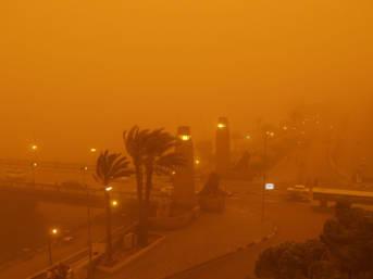 Sandsturm Kairo