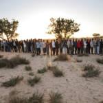 Flüchtende aus Libyen stehen in einem tunesischen Durchgangslager für Essen an | Bild (Ausschnitt): © United Nations Photo [CC BY-NC-ND 2.0] - flickr