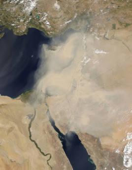 Sandsturm Naher Osten