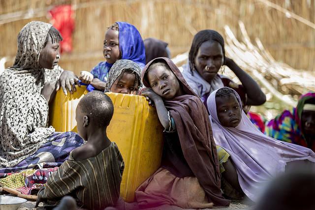 UN-Angaben zufolge sind 2,5 Millionen Menschen in Nigeria vor der Boko Haram auf der Flucht |  Bild: ©  Utenriksdepartementet UD [CC BY-NC-ND 2.0]  - Flickr