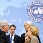 Der ehemalige Präsident des IWF, Dominique Strauss-Kahn (links) und die aktuelle Direktorin, Christine Lagarde (rechts hinten) | Bild (Ausschnitt): © International Monetary Fund [(CC BY-NC-ND 2.0) ] - Flickr