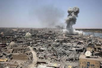 Irak Mossul Luftangriff Luftangriff auf Mossul 2017 | Bild: © Tasnim News [CC BY-SA 4.0]  - Wikimedia Commons