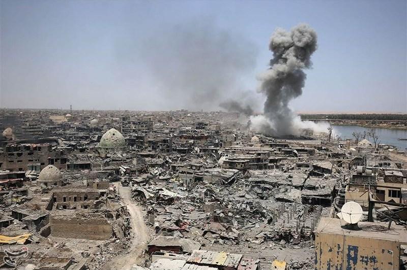Irak Mossul Luftangriff