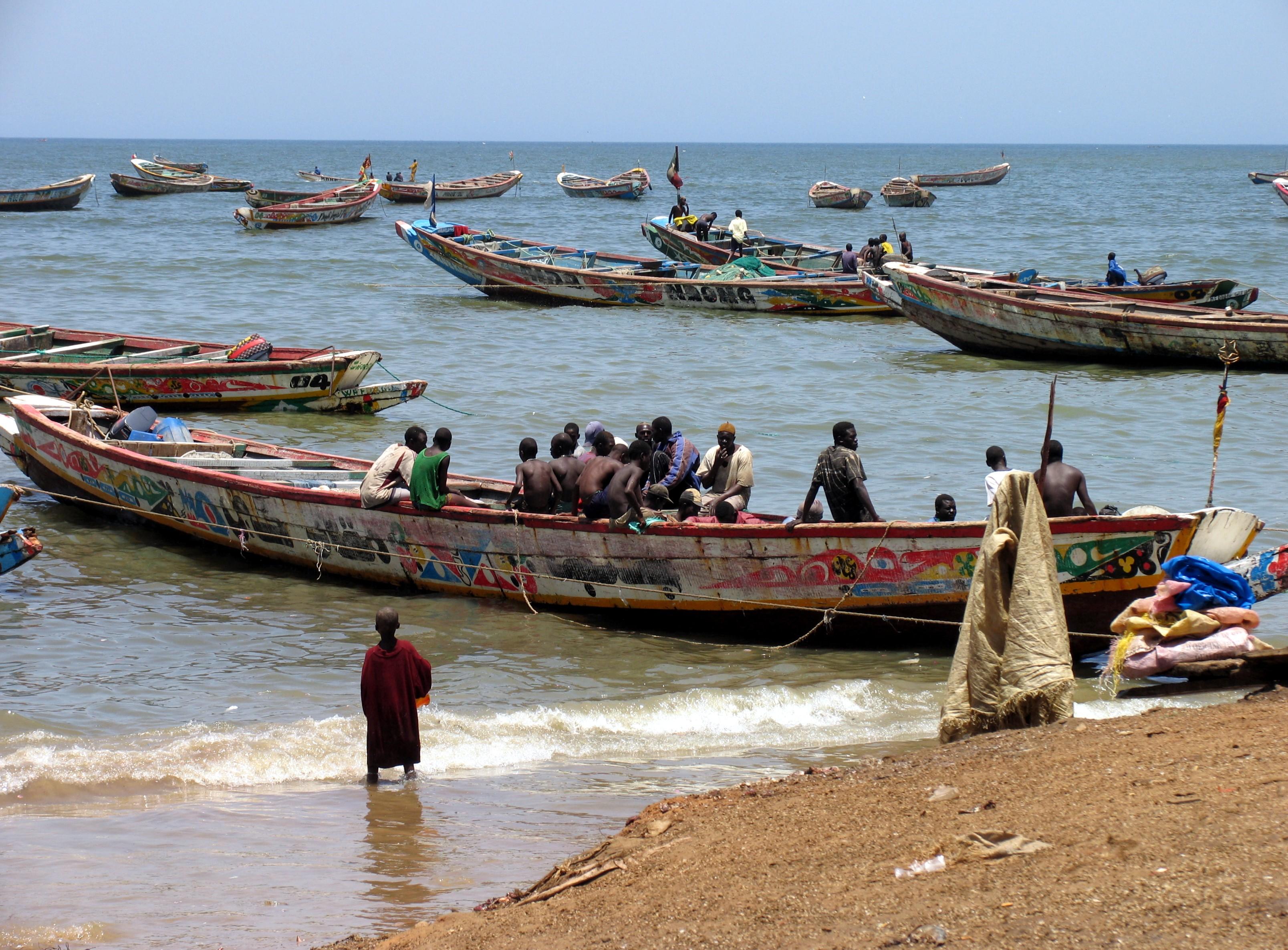 Kleinfischer im Senegal