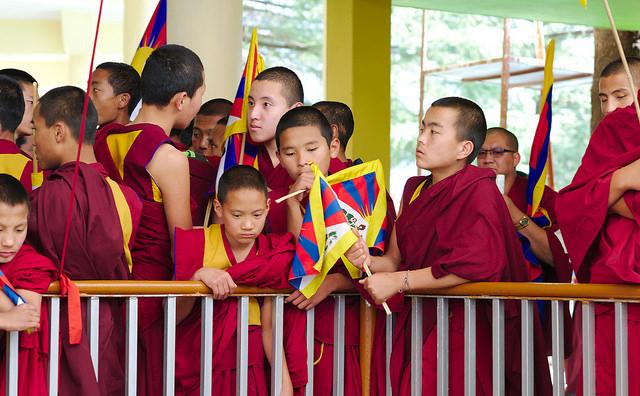 Tibetische Mönche