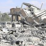Syrien Folgen eines amerikanischen Luftschlags nahe der Stadt Damaskus. Der Region Idlib könnte in der nächsten Zeit das selbe Schicksal drohen | Bild (Ausschnitt): © Tasnim News Agency [CC BY 4.0] - Wikimedia Commons