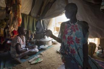 Flüchtlinge im Südsudan Im Südsudan sind rund 4,5 Millionen Menschen auf der Flucht- knapp 400.000 verloren bereits ihr Leben |  Bild: © Oxfam East Africa [CC BY 2.0]  - flickr
