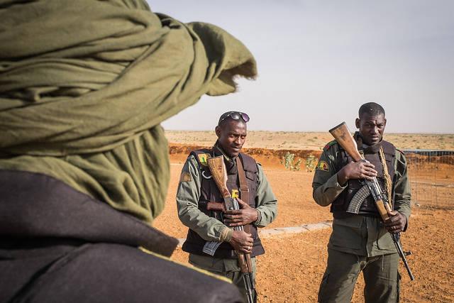 Soldaten Mali Malische Soldaten im Kampf gegen den Terrorismus |  Bild: © Fred Marie [CC BY-NC-ND 2.0]  - flickr