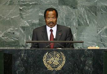 Paul Biya, Präsident von Kamerun Paul Biya, Präsident von Kamerun, regiert das Land seit 35 Jahren |  Bild: ©  United Nations Photo [CC BY-NC-ND 2.0]  - flickr
