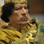 Muammar al-Gaddafi auf dem 12. Gipfel der Afrikansichen Union am 2. Februar 2009 Muammar al-Gaddafi auf dem 12. Gipfel der Afrikansichen Union am 2. Februar 2009 | Bild (Ausschnitt): © U.S. Navy photo by Mass Communication Specialist 2nd Class Jesse B. Awalt [public domain] - Wikimedia Commons