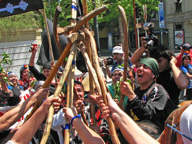 Mapuche Mapuche in Chile kämpfen für ihre Rechte    Bild: © David Suazo Quintana [CC BY-NC 2.0]  - flickr