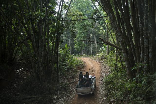 Militärisches Kontrollgebiet Myanmar