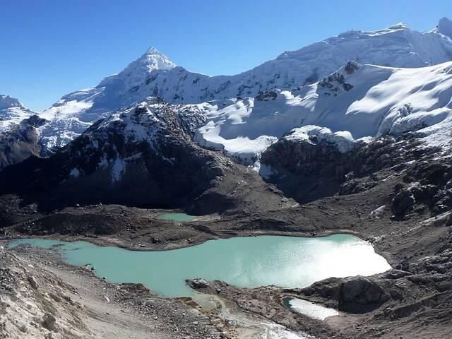 Cordillera Blanca Peru Tocllaraju Berg im peruanischen Cordillera Blanca ist vom Klimawandel bedroht     Bild: © twiga269 [(CC BY-NC 2.0) ]  - Flickr
