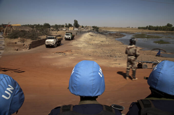 UN-Friedensmission in Mali UN Security Council convoy drives through the streets of Mopti, Northern Mali. |  Bild: © United Nations Photo [CC BY-NC-ND 2.0]  - flickr