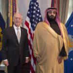 Defense Secretary James N. Mattis meets with Saudi Arabia's First Deputy Prime Minister and Minister of Defense, Crown Prince Mohammed bin Salman bin Abdulaziz | Bild (Ausschnitt): © U.S. Secretary of Defense [CC BY 2.0] - flickr