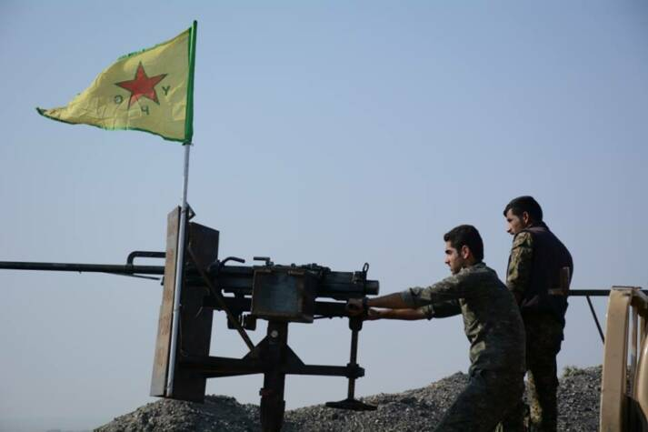 Kurdische YPG-Kämpfer  |  Bild: © Kurdishstruggle [CC BY 2.0]  - flickr