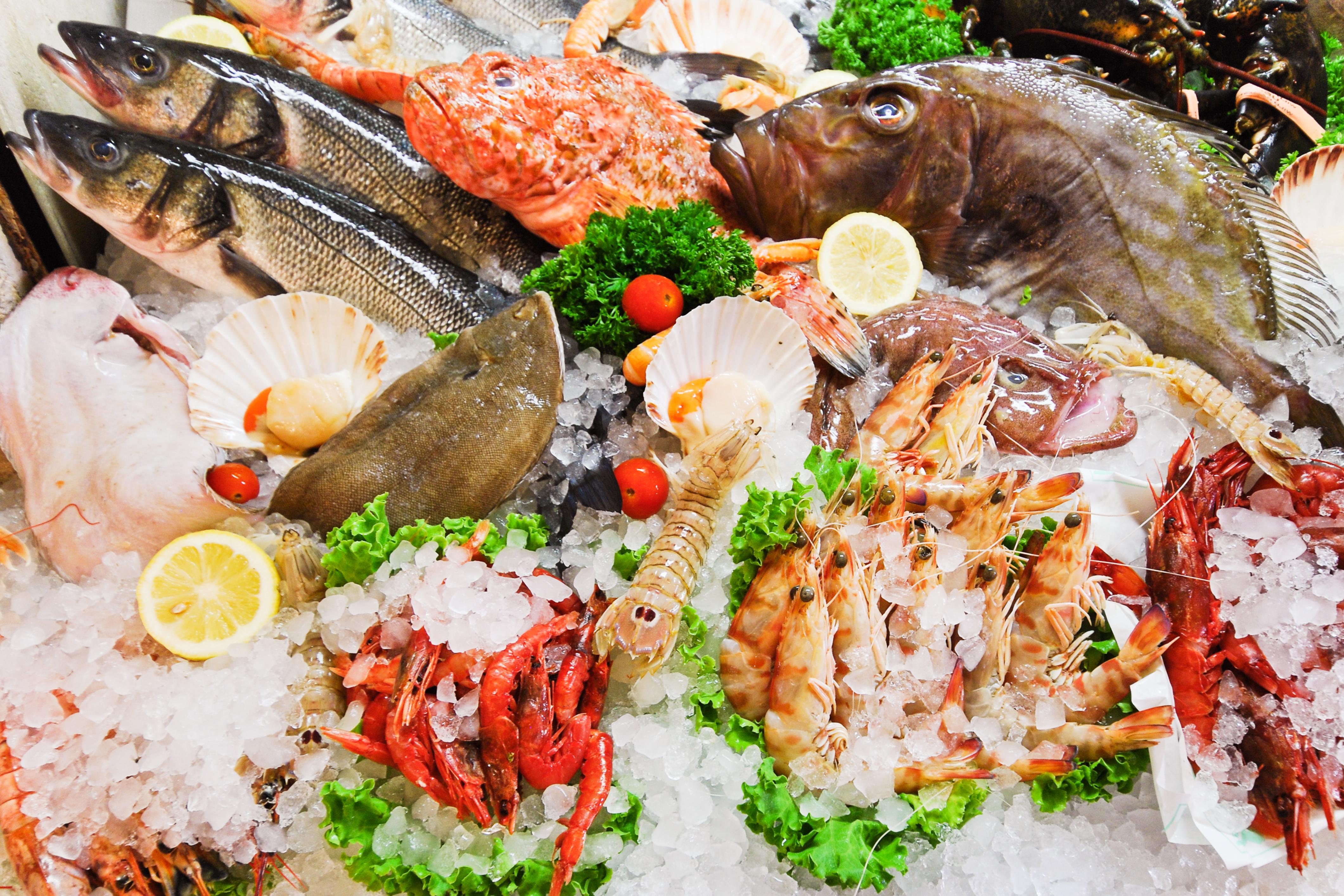 Auswahl in der Fischtheke. |  Bild (Ausschnitt): © Vvoevale [Royalty Free]  - Dreamstime.com