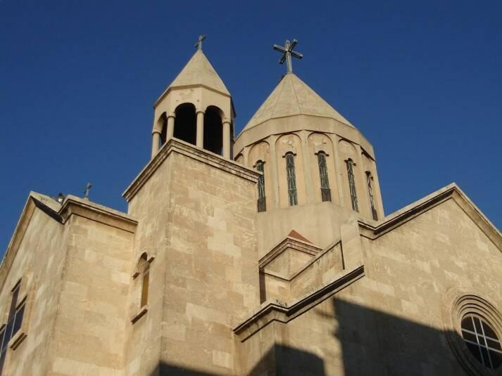 Kirche in Aleppo vor dem syrischen Bürgerkrieg    Bild: ©  Hovic - Churches Album [CC BY 2.0]  - flickr