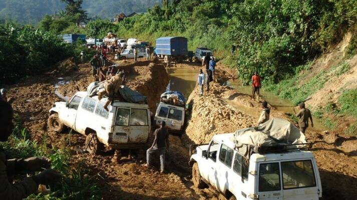 Die Infrastruktur ist im Kongo meist nicht gut ausgebaut    Bild: © EU Civil Protection and Humanitarian Aid [CC BY-SA 2.0]  - flickr