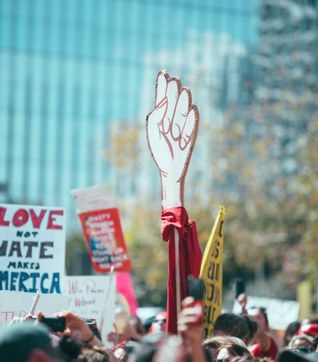 Am 8. März gehen jährlich Tausende auf die Straße um für Frauenrechte zu demonstrieren |  Bild: © Molly Adams [CC BY 2.0]  - flickr