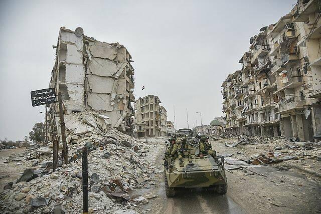 Aleppo |  Bild: © Министерство обороны Российской Федерации [CC BY 4.0]  - Wikimedia Commons