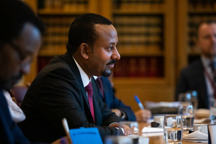 Äthiopien, Friedensnobelpreis Für seine Friedensbemühungen gewann der Äthiopische Ministerpräsident Abiy Ahmed 2019 den Friedensnobelpreis |  Bild: © Stortinget [CC BY-NC-ND 2.0]  - flickr