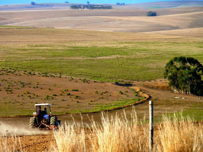 Afrika Feld Ackerbau bildet die Lebensgrundlage vieler Menschen in den Least Developed Countries    Bild: © Christopher Griner [CC BY 2.0]  - Flickr