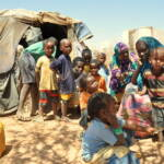 Binnenvertriebene in Somalia Binnenflüchtlinge in Somalia: Fast 20 Prozent der somalischen Bevölkerung ist auf der Flucht vor der Dürre, bewaffneten Konflikten und Drohnenangriffen | Bild (Ausschnitt): © Oxfam East Africa [CC BY 2.0] - flickr
