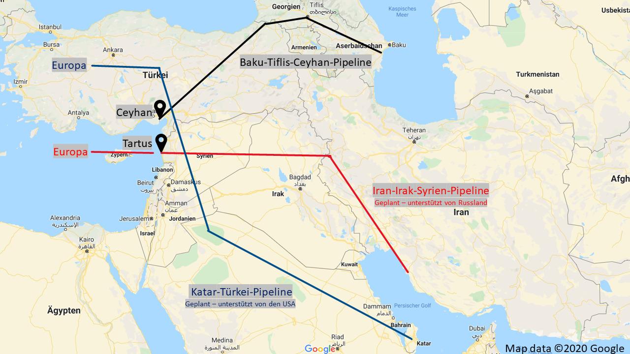 Pipeline Syrien
