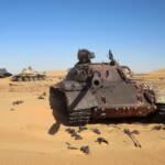 Panzer Libyen Libysche Panzer in der Wüste | Bild (Ausschnitt): © David Stanley [CC BY 2.0] - Flickr