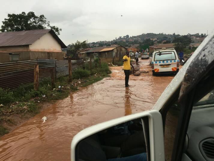 Uganda Flut Anhaltender Starkregen sorgt für Überflutungen in Uganda  |  Bild: © Christine und Hagen Graf [CC BY 2.0]  - Flickr