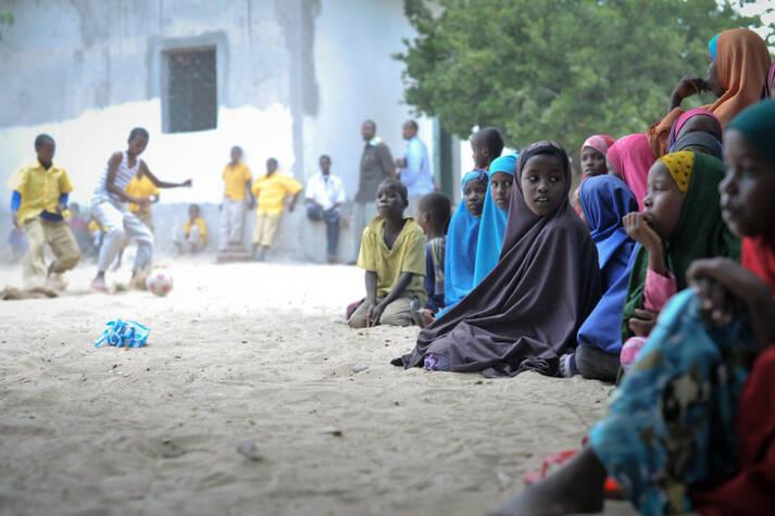 Bild binnenvertriebene Kinder Millionen von Binnenflüchtlingen mussten ihre Heimat verlassen - oft mit ungewissem Ausgang. Viele von ihnen sind Kinder. |  Bild: © United Nations Photo [CC BY-NC-ND 2.0]  - flickr