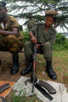Burundi Soldat