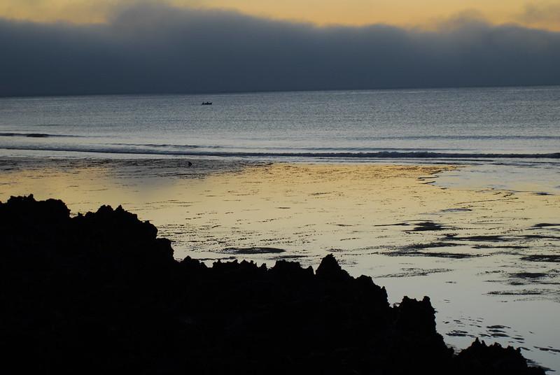 Die Küste in Mosambik.
