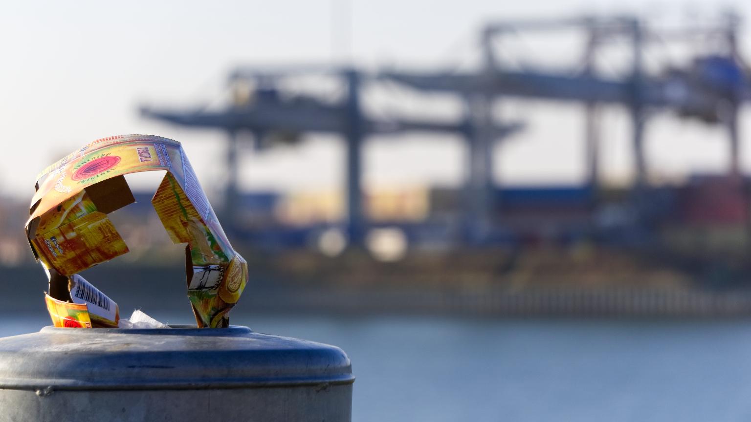 Müll Hafen