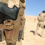 Eine Pistole des deutschen Waffenkonzerns Sig Sauer Deutsche Waffen von Sig Sauer finden ihren Weg illegal nach Mexiko | Bild (Ausschnitt): © Defence Images [(CC BY-NC-ND 2.0)] - flickr