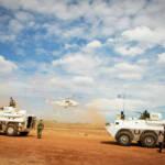 UN-Truppen im Sudan. Militärinterventionen werden mit Menschenrechten begründet - oft stecken aber andere Interessen dahinter. | Bild (Ausschnitt): © United Nations Photo [(CC BY-NC-ND 2.0) ] - flickr