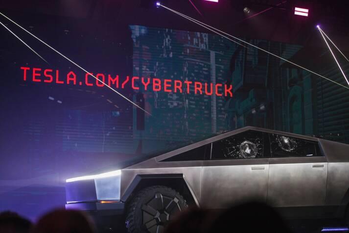 tesla cybertruck Der Cybertruck von Tesla, die Zukunft der Mobilität?    Bild: © Kruzat [CC BY-SA 4.0]  - Wikimedia Commons