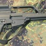 G-36 Heckler & Koch Das G-36 Gewehr der Marke Heckler & Koch. | Bild (Ausschnitt): © DomoK [CC BY-SA 3.0] - Wikimedia Commons