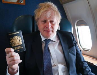 Boris Johnson britischer Pass