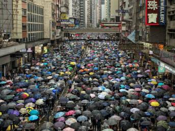 Regenschirmprotest Hongkong