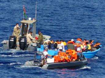 Libyen Küstenwache Flüchtlinge