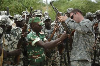 Mali Militär Ausbildung