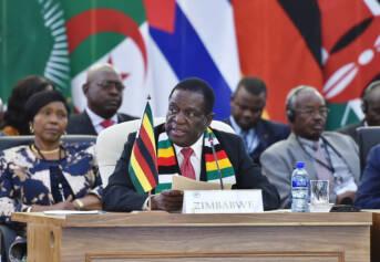 Simbabwe Präsident